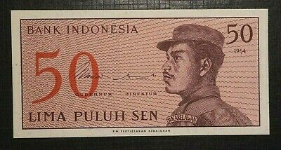 small 50 Sen 1964 INDONESIA  (87B)