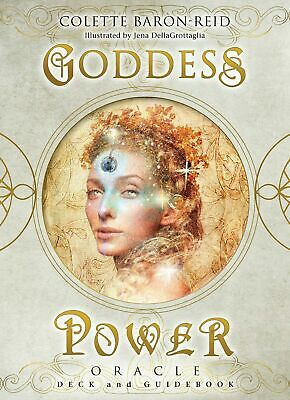 Goddess Power Oracle : Deck and Guidebook [ Cards | 2019 ]