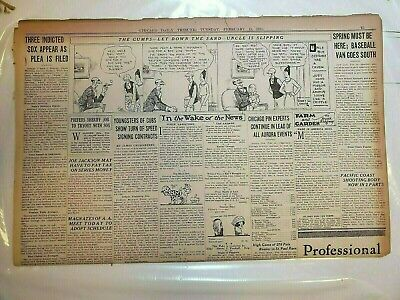 CHICAGO DAILY TRIBUNE Newspaper WWII September 4 1939 Liner