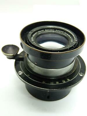 GOERZ DAGOR LENS 168mm 6.8  LF w focusing  mount      5705