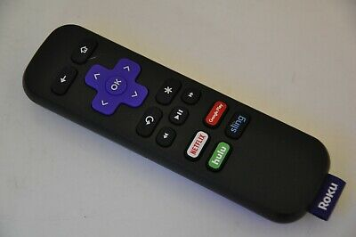 Roku Rc101 Streaming Media Player Remote - Original - Netflix Google Play Hulu