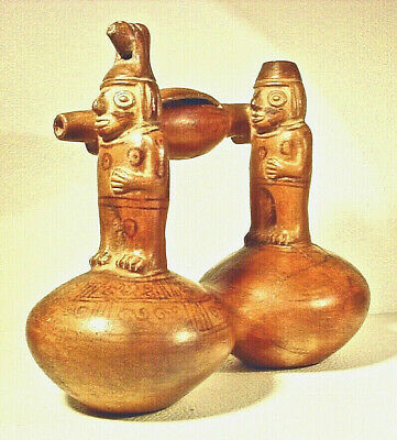 Pre-Columbian INCA WHISTLING VESSEL EX SOTHEBY '78