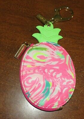 Lilly Pulitzer Pineapple Coin Purse NWOT!