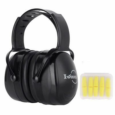 Ear Muffs Noise Reduction Safety Hearing Protection Headphones, Professional Adj
