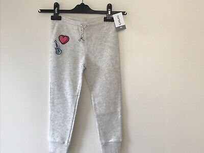 Cute Carter's Little Girls Patch Joggers Trousers Pants 4T Kids New with tag