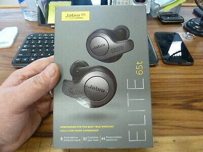 Jabra GN Elite 65t Earbuds with Charging Case (FX)