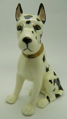 Amazing Erphilla Germany Porcelain Great Dane! Super Nice Collector's Piece!