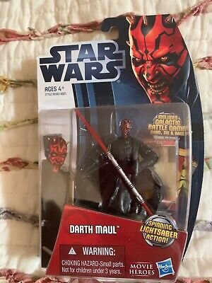 "Star Wars Movie Heroes 3.75"" Darth Maul Action Figure"