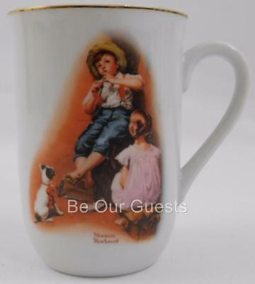 Norman Rockwell H. M. I. The Music Maker Vintage Coffee Mug Cup