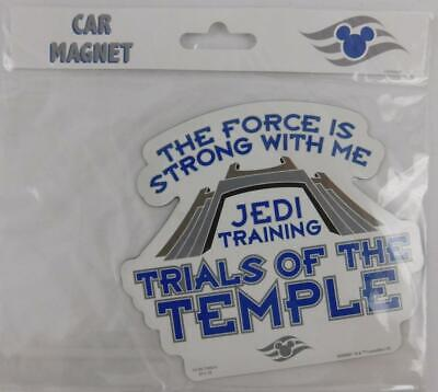 Disney Cruise Line Jedi Training Trials of the Temple Car Magnet New
