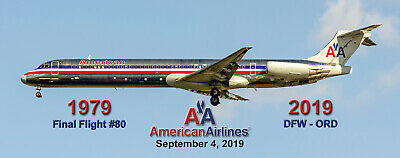 """American Airlines Boeing 720 70/'s colors 2/""""x5/"""" Handmade Photo Magnet PMT1707"""