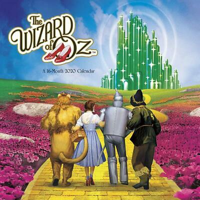 The Wizard Of Oz - 2020 Wall Calendar -  Brand New - 204048