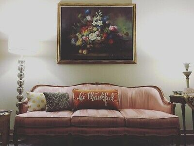 Antique French Style Provincial Sofa Couch