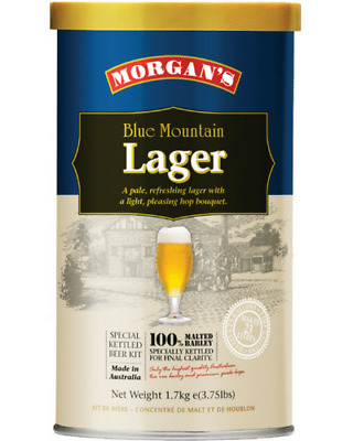 Morgans Blue Mountain Lager Home Brew 3 Pack