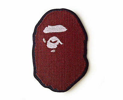Ape Patch Bape Patch A Bathing Ape Patch Sew On Embroidered Brown