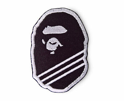 Ape Patch Adidas collaboration Bape Patch A Bathing Ape Patch Sew On Black