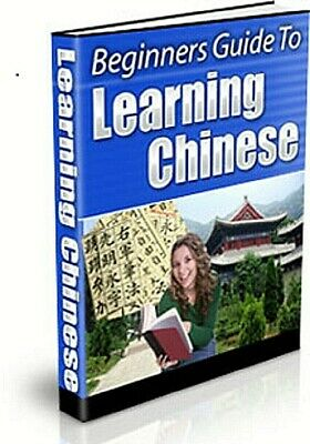 Beginners Guide to Learning Chinese eBook pdf Master Resell Right free shipping