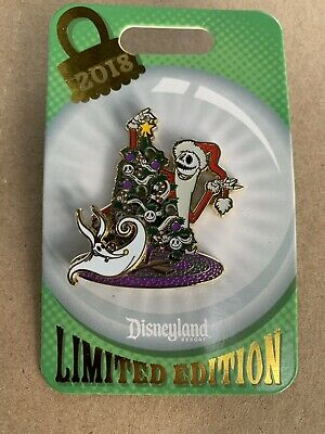Disney Parks Disneyland Nightmare Before Christmas Tree Trimming 2018 Le2000 Pin