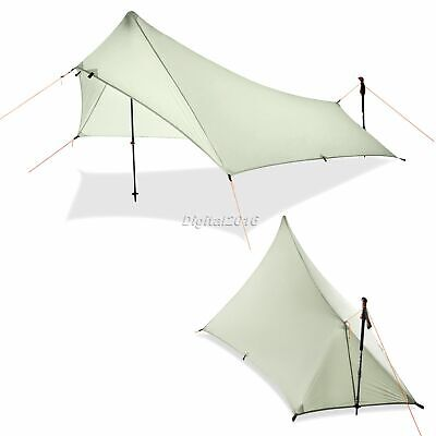 Outdoor Camping Shelter Waterproof Pop Up Awning Shelter Lightweight Portable