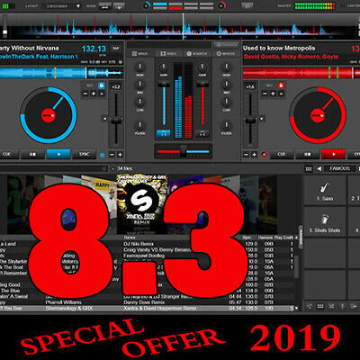 Virtual DJ Pro Infinity 8.3 for Windows + Full Controllers + Fast Delivery