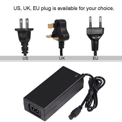 AC110~240V Power Supply Adapter Transformer 2A DC 42V UK US EU AU Plug Charger