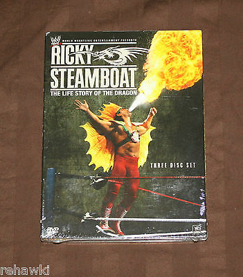 WWE: RICKY STEAMBOAT: The Life Story of the DRAGON (DVD, 2010) *BRAND NEW* WWF