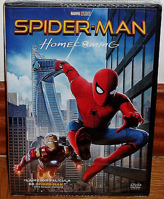 Spider-Man Homecoming 2017 Spiderman DVD Neuf Scellé Action (sans Ouvrir) R2