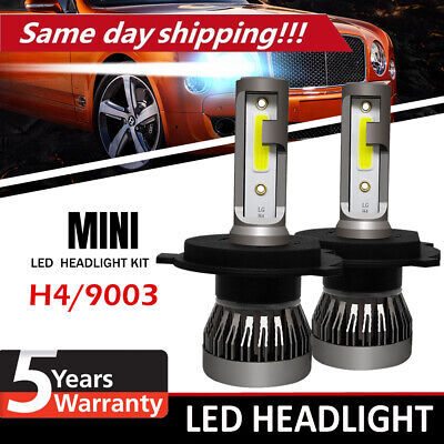 2019 New 4-Side H4 LED Headlight Car Bulbs 200W 20000LM High And Low Beam Bright
