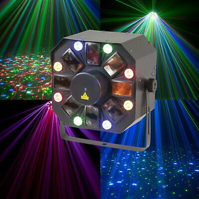 Moonflower RGB Stage Light Effect Laser Projector Party KTV DJ Disco Lighting