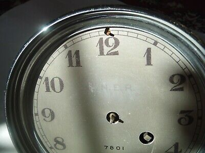 LNER LONDON NORTH EASTERN RAILWAY CLOCK French Movement Marti Striking