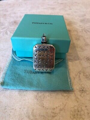 Tiffany & Co. Sterling Silver Perfume Bottle for Purse