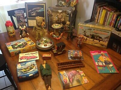 Vintage Junk Drawer Lot Toys Collectibles & MORE See Photos