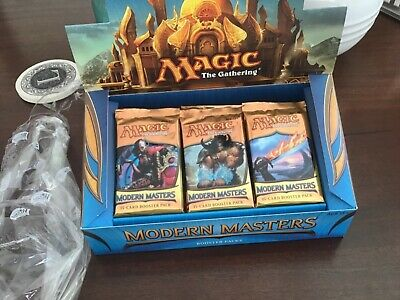 Magic the Gathering MTG 1x Modern Masters 2013 Booster Pack 24 from Sealed Box