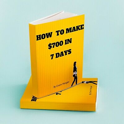 How To Make $700 In 7 Days PDF eBook MRR Master Resell Rights 5 FREE eBooks 12Hr