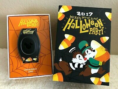 Disney 2017 Mickey's Not So Scary Halloween Party Limited 2,500 MagicBand NEW
