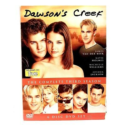 Dawsons Creek The Complete Third Season 6 Disc Dvd Set TV Series As Seen on Five