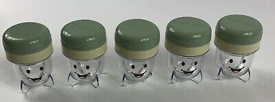 Lot of (5) Five Bullet Replacement Individual Serving Cups