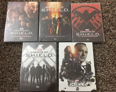 Marvels Agents Of SHIELD: Seasons 1-5 DVD Series 1 2 3 4 5 New