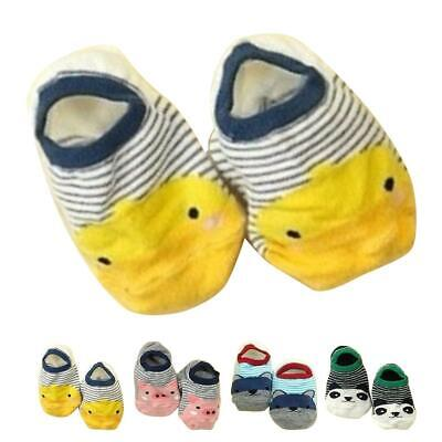 New Cartoon Baby Kids Cotton Warm Floor Baby Socks Low-cut Liners Ankle Sock