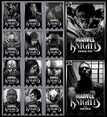 Topps Marvel Collect Card Trader Marvel Knights 3Rd Printing [Set 14 Cards]