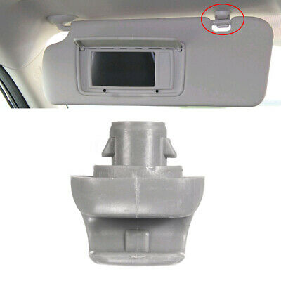 Grey Sun Visor Clip For Honda CR-V Civic Accord Odyssey Pilot 88217-S04-003ZA