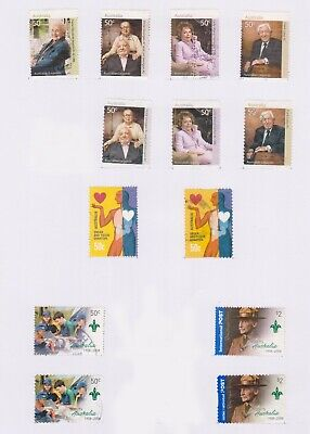 (AUT-170) 2007 AU 13stamps 3lots 50c to $2 (FO)