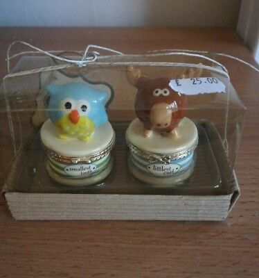 Owl & Moose Babies  First Tooth and First Curl Set by Mud Pie  Brand New