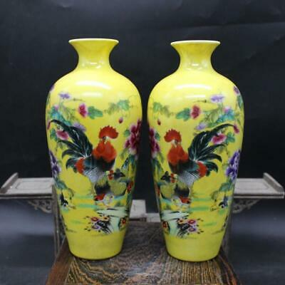 Chinese ancient antique hand make vase QIANLONG MARK a207