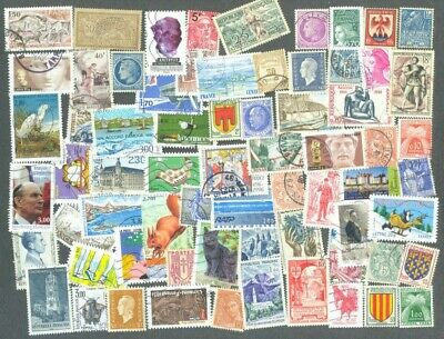 France 500 all different Stamps collection