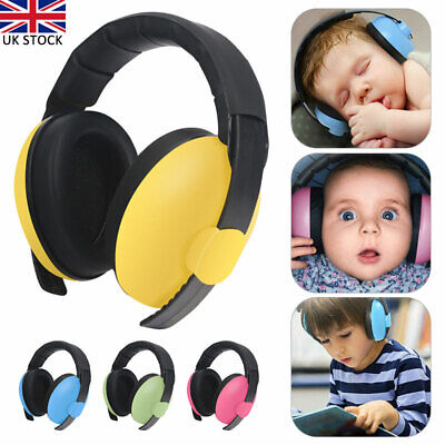 Kids Baby Ear Defenders Ear Muffs Noise Reduction Adjustable Newborn to 5 Years