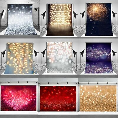 Dreamy Halo Background Wall Vinyl Glittering Photo Backdrop Studio Props Hot@NCK