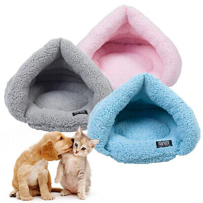 2019 NEW HOT Pet Dog Cat Bed Puppy Cushion House Pet Soft Warm Kennel Dog Mat UK
