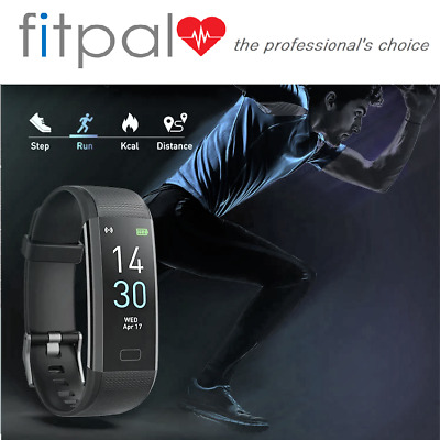 Fit-Pal Fitness Activity Tracker Fitbit Step Calories Distance Smart Watch