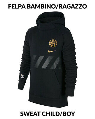 INTER MILAN HOODIE 2019 20 garçon Sportswear Graphic Fleece
